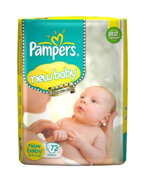 pampers new baby